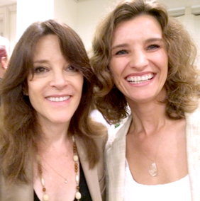 Dr. Sky Blossoms & Marianne Williamson